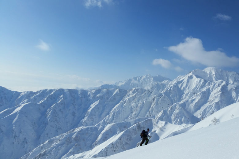 Ski-touring with extreme skier Sam Anthamatten - Hakuba Backcountry, Japan