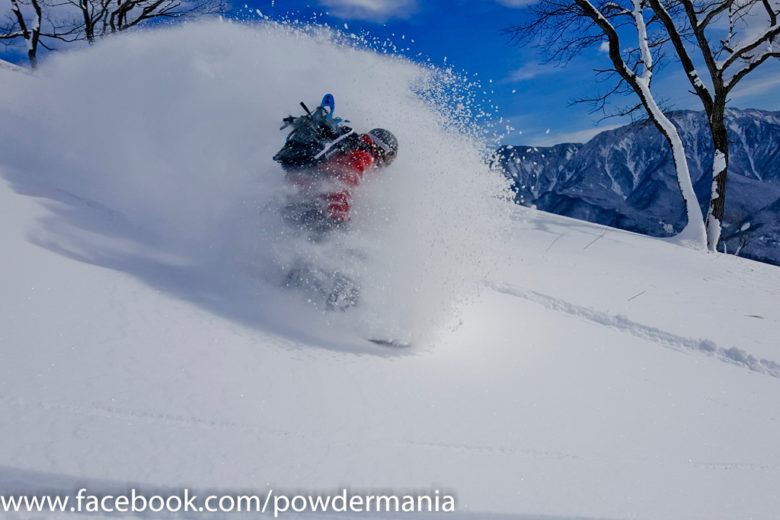 Geraldine season opening run in early December in Cortina with Patrick Fux from Powdermania – Hakuba-Cortina, Japan