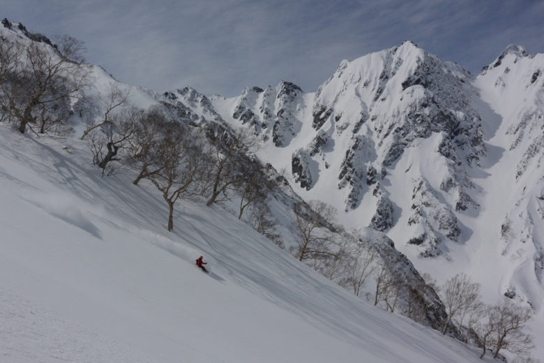 March powder has a unique flavor in Japan after beautiful approach hikes in dream landscapes – Hakuba Happo Backcountry, Japan